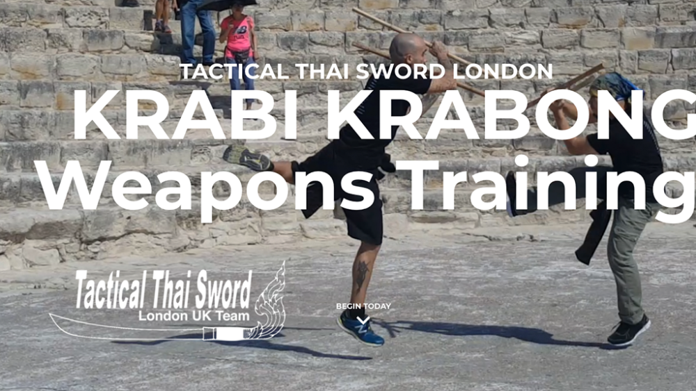 Tactical Thai Sword London