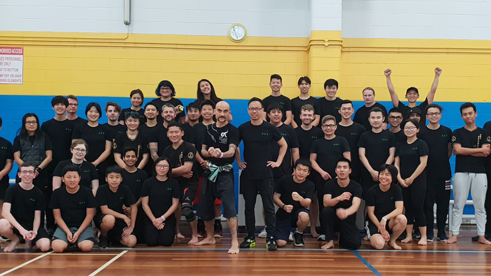 Tactical Thai Sword London seminar in Brisbane - Kru Nuat seminar