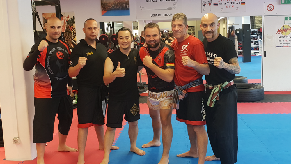 Seminar in Lorrach - Tactical Thai Sword London - Cyprus - Lorrach