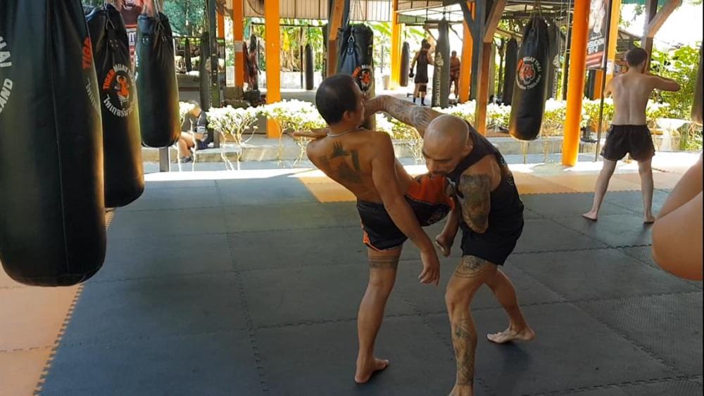 Kru Nuat and Kru Oh, Muay Boran, Tactical Thai Sword London